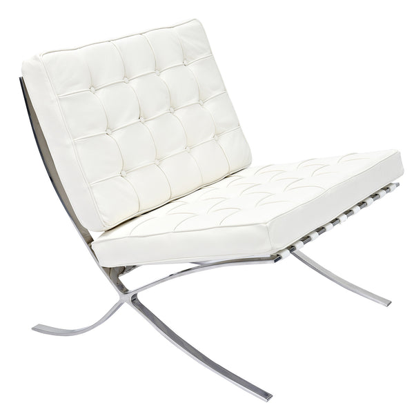 Milano White Mies Chair