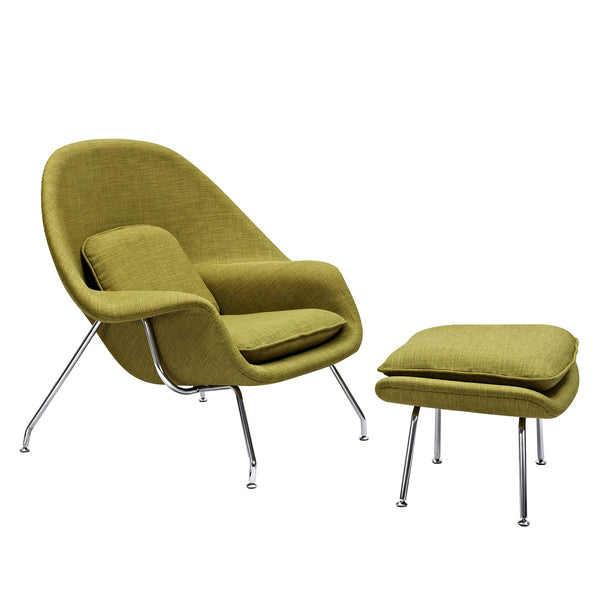 Avocado Green Saro Chair