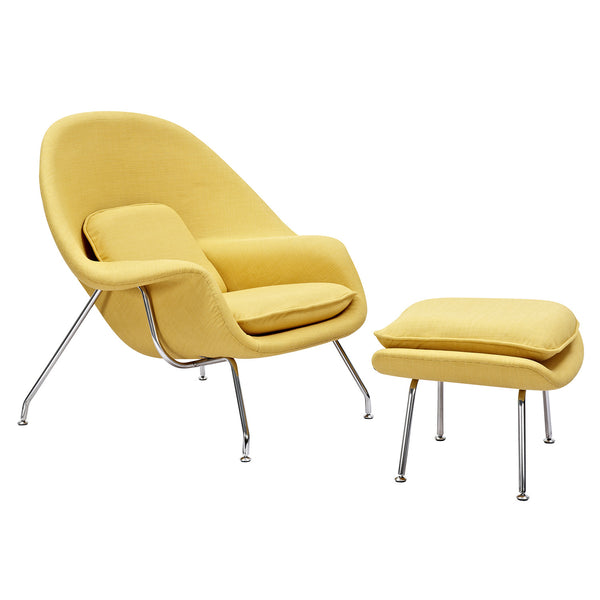 Papaya Yellow Saro Chair
