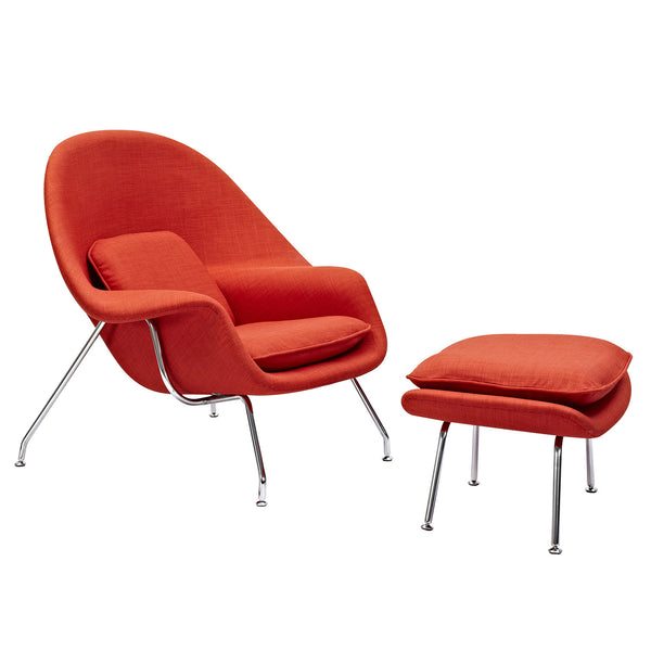 Lava Red Saro Chair