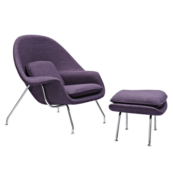 Plum Purple Saro Chair