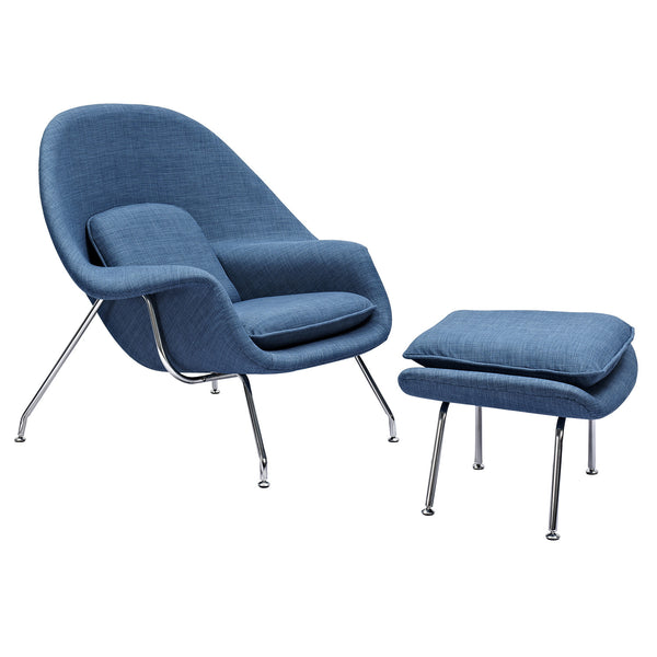 Dodger Blue Saro Chair
