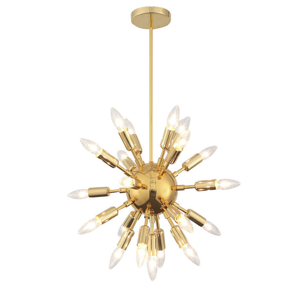Astrid Gold Mini Chandelier