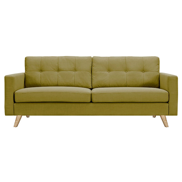 Avocado Green Uma Sofa - Natural