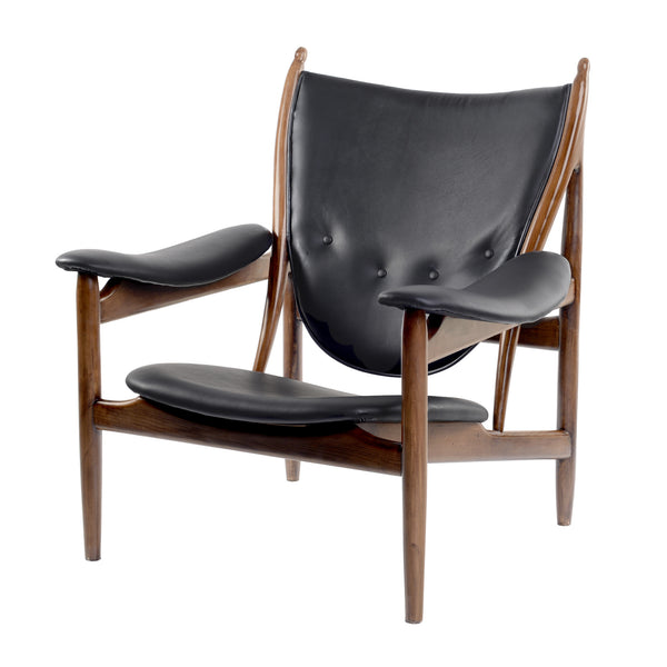 JET BLACK ARNE CHAIR