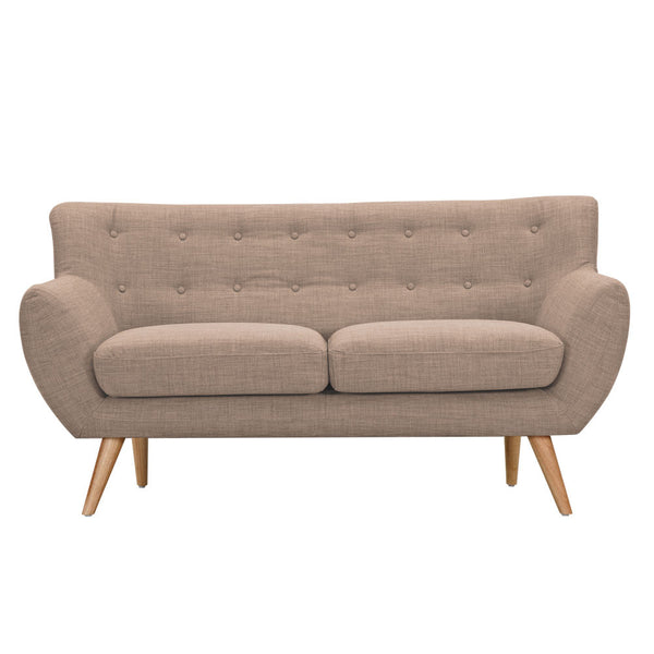 Light Sand Ida Loveseat - Natural