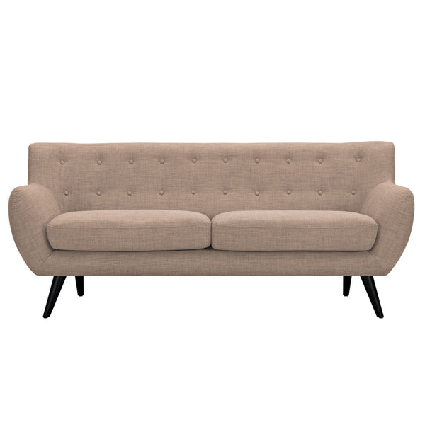 Light Sand Ida Sofa -  Black