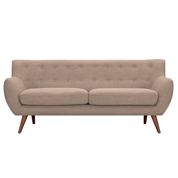 Light Sand Ida Sofa - Walnut