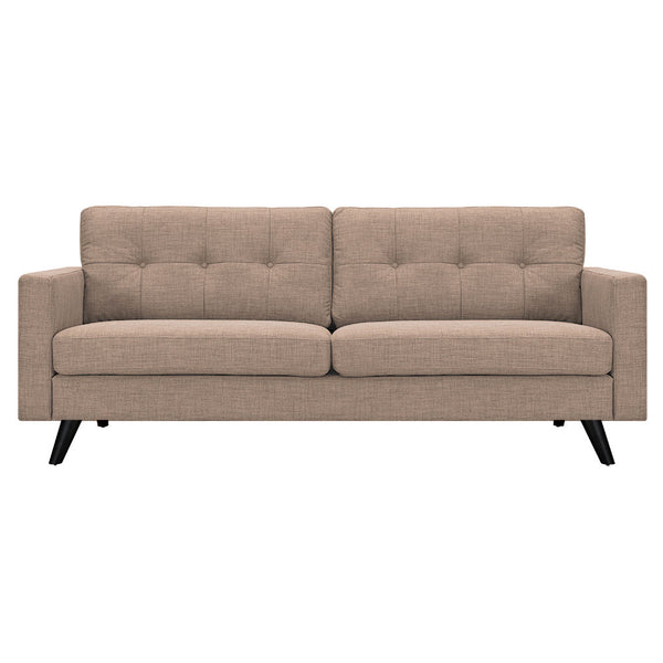 Light Sand Uma Sofa -  Black