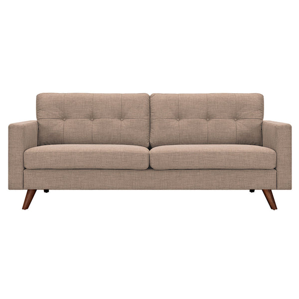 Light Sand Uma Sofa - Walnut