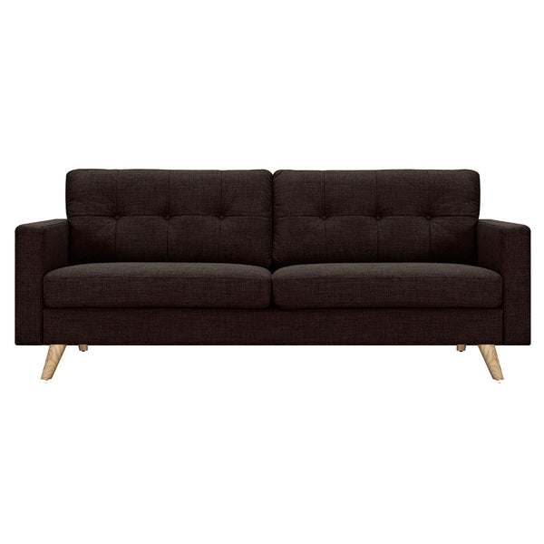 Mocha Brown Uma Sofa - Natural