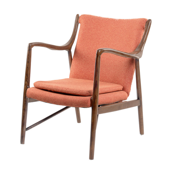 RETRO ORANGE GUSTAF CHAIR