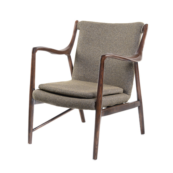 DARK TAUPE GUSTAF CHAIR