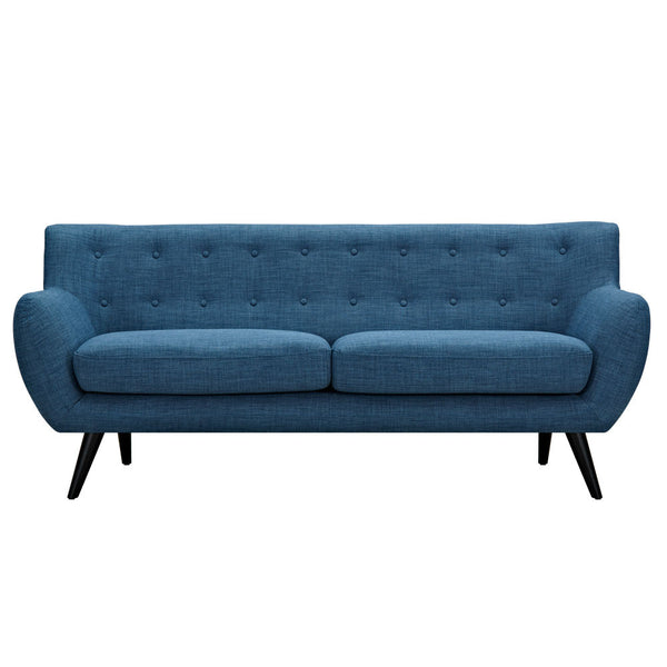 Stone Blue Ida Sofa - Black