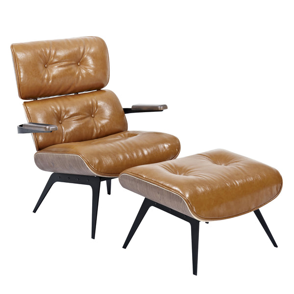 Caramel Brown Eama Chair