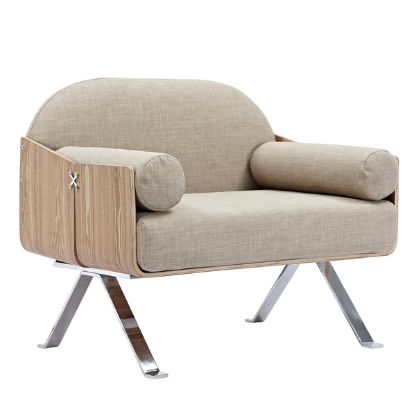 Oatmeal Gray Jorn Chair - Natural