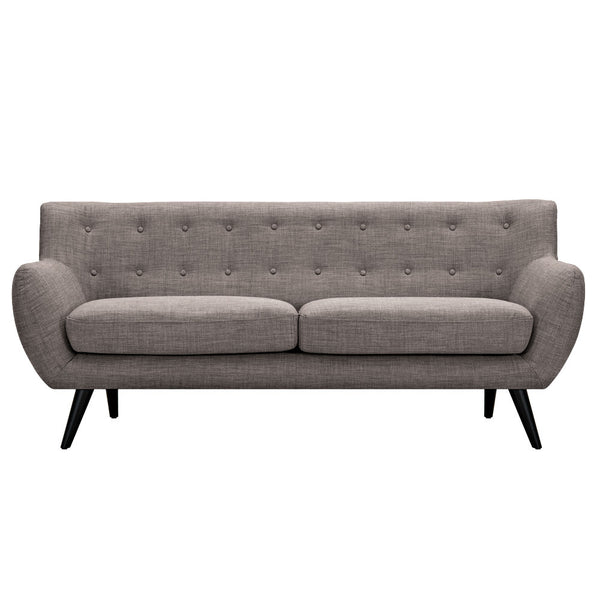 Aluminium Gray Ida Sofa - Black
