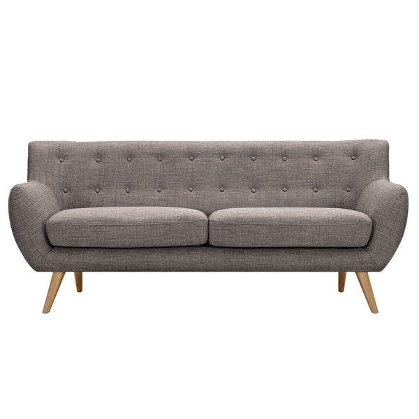 Aluminium Gray Ida Sofa - Natural
