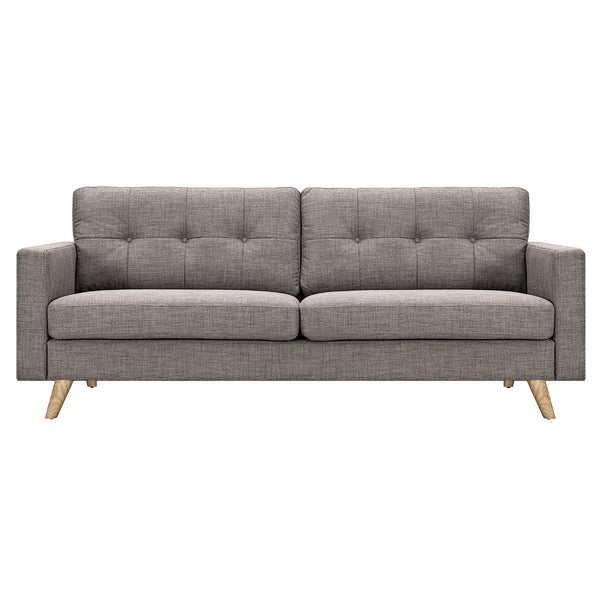 Aluminium Gray Uma Sofa - Natural