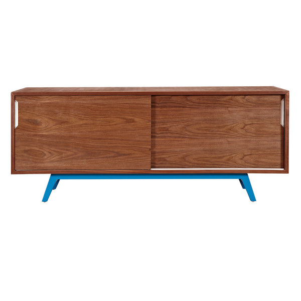 Blue Elsa Sideboard- Walnut