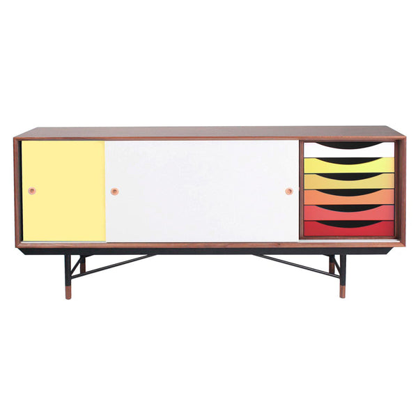 Soren Sideboard - Red