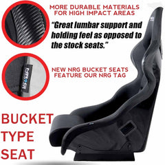 Carbon Fiber/Fiber Glass Bucket Seat