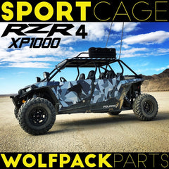 WP055 Polaris 4 seat Xp1000 Sport Back Cage