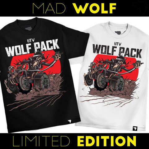 "T-Shirt ""MAD WOLF"" KIDS / ADULTS"
