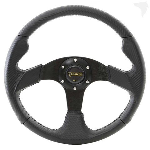 WP032 UTV Steering Wheel / Race & Sport - Carbon Fiber