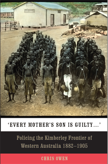Steve Kinnane launches Every Mother's Son is Guilty by Chris Owen