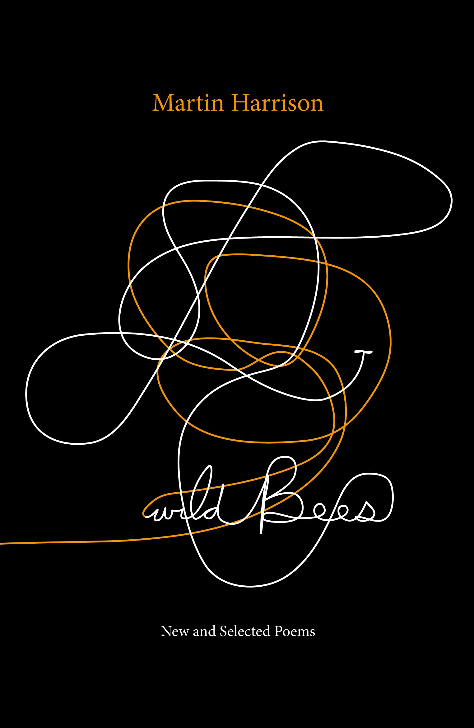 Poetry Book Cover Zwart ~ Wild bees new and selected poems uwa publishing