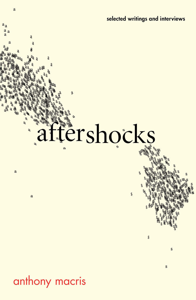Aftershocks: Selected writings and interviews