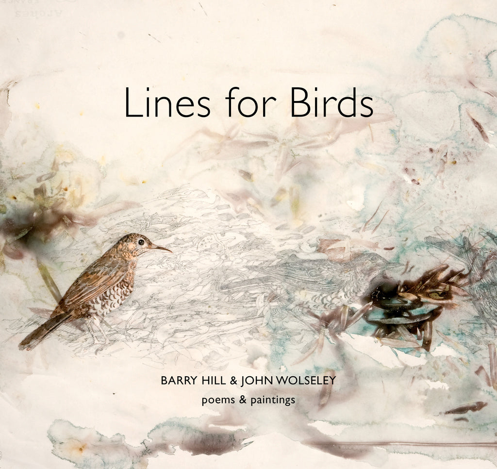Lines for Birds: Poems & Paintings