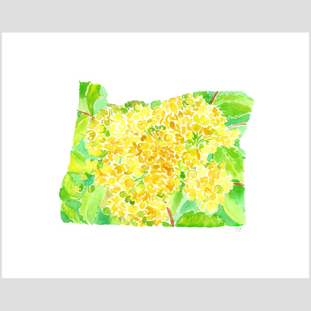 Oregon Grape fine art print