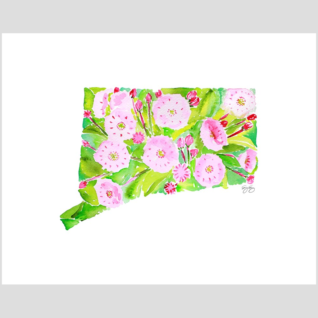 Connecticut Mountain Laurel fine art print