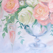Load image into Gallery viewer, Ranunculus and Rosé - 18 x 24