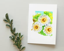 Load image into Gallery viewer, Arizona Saguaro Cactus Blossom note card set