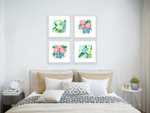 Load image into Gallery viewer, Floral bouquet No. 3, a fine art print on canvas