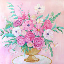 Load image into Gallery viewer, La Vie en Rose - 36 x 36