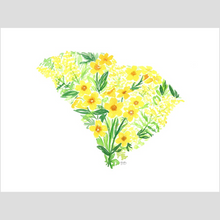 Load image into Gallery viewer, South Carolina Yellow Jessamine and Goldenrod fine art print