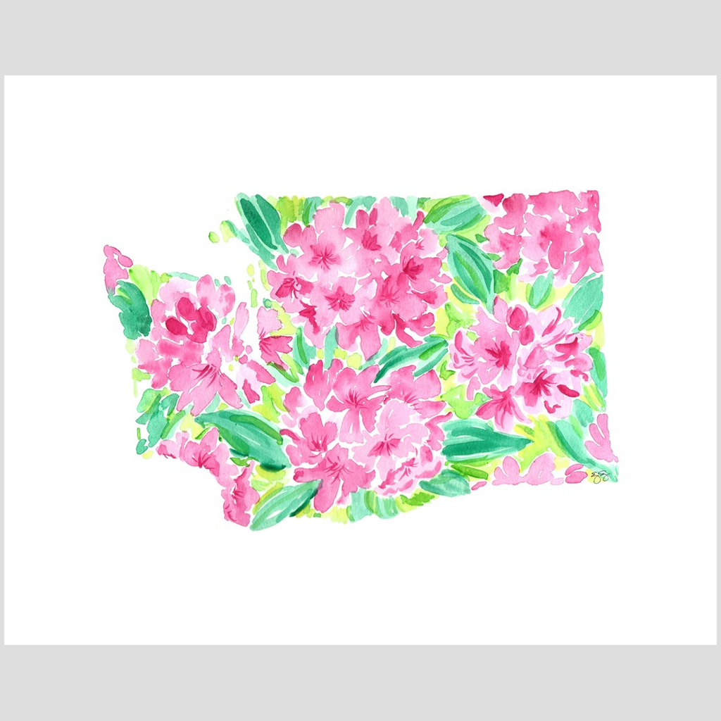 Washington Rhododendron fine art print