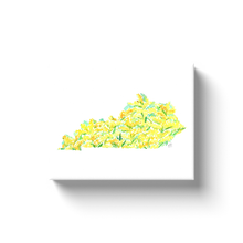 Load image into Gallery viewer, Kentucky Goldenrod canvas wrap