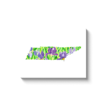 Load image into Gallery viewer, Tennessee Iris canvas wrap