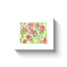 Load image into Gallery viewer, Wyoming Indian Paintbrush canvas wrap
