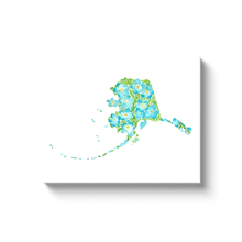Load image into Gallery viewer, Alaska Forget-Me-Not canvas wrap