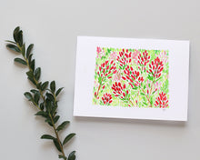 Load image into Gallery viewer, Wyoming Indian Paintbrush note card set