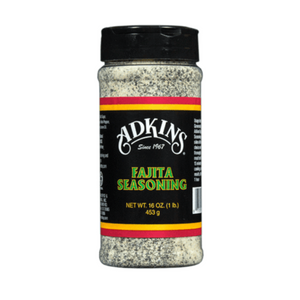 Adkins Regular Fajita Seasoning - ALL NATURAL (16 oz) - Pack of 3