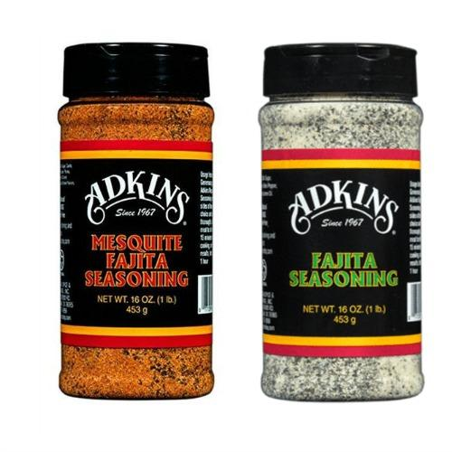 Adkins Seasoning Sampler Packs – Fajita, Chicken & Pork Rub, Western BBQ Rub