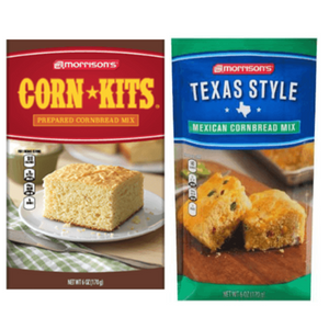 Morrison's Corn Kits Original or Texas-style Corn Bread Corn Fritter Mix