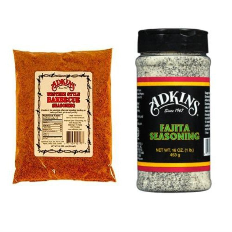 Adkins Texas-style Seasoning Sampler Sets – Free Shipping